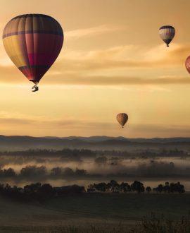 Hot Air Balloon in Sri Lanka